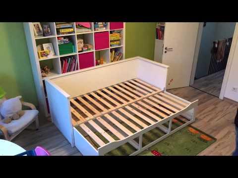 Maya's neues Ikea Hemnes Bett