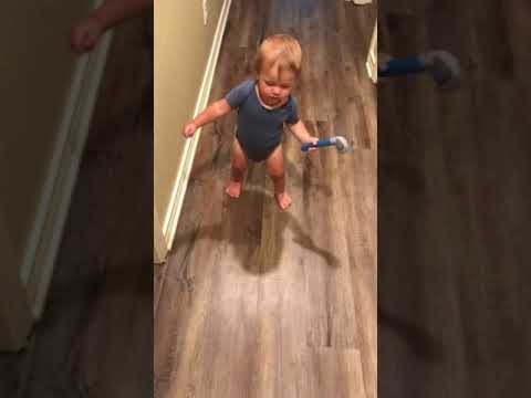 Miles' Very First Steps