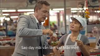 Quảng cáo ngân hàng SCB Thái Lan cực hài