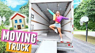 PACKING THE MOVING TRUCK! Moving in vlogs🏠