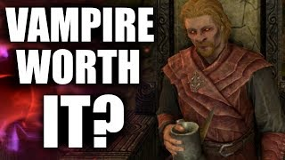 Skyrim - Is Being a Vampire Worth It?