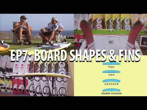 TWS Wave Technique Series – Ep 7: Board shape, setup, tune, fins, quad, single, concave, windsurifng