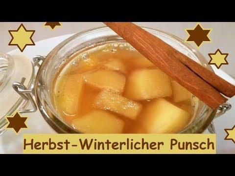 Herbst-Winterlicher Punsch, mit oder ohne Alkohol!