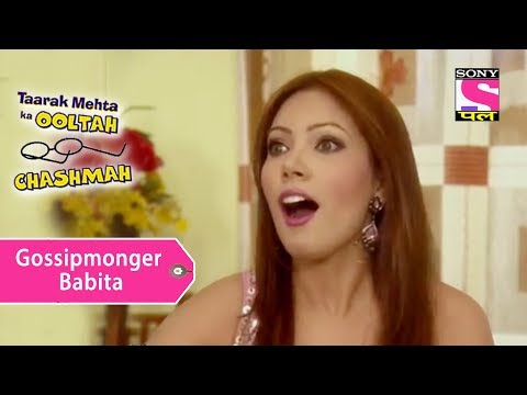 Your Favorite Character   Gossipmonger Babita   Taarak Mehta Ka Ooltah Chashmah