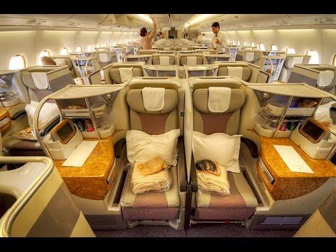 LUXURY IN THE SKY | EMIRATES A380 ZRH-DXB | BUSINESS CLASS