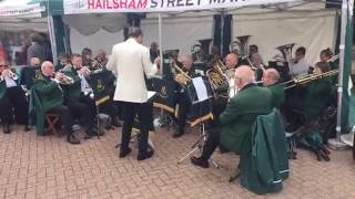 Wealden Brass Hailsham High Street 2017