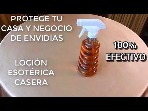 PROTEGE TU CASA Y NEGOCIO DE ENVIDIAS LOCIÓN ESOTÉRICA CASERA 100% EFECTIVO