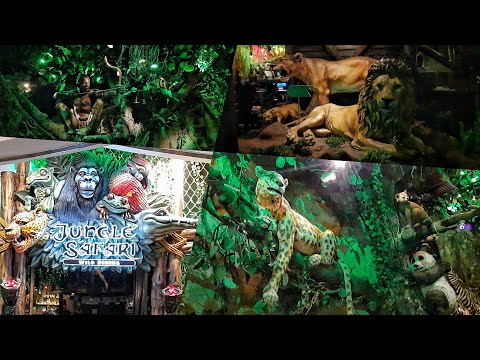 jungle Safari | jungle theme restaurant in Mani square mall at kalkata : natural scene scenery