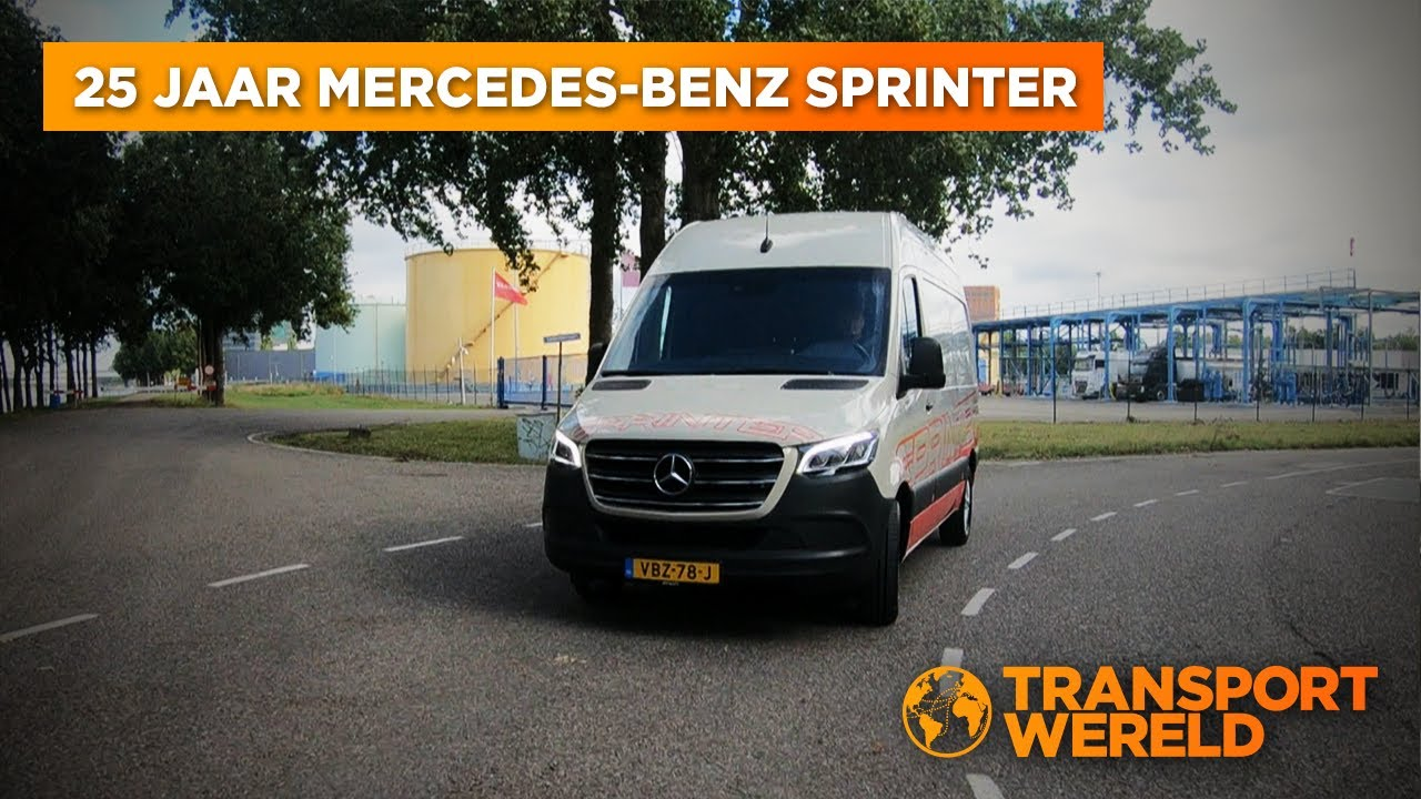 25 Jaar Mercedes-Benz Sprinter