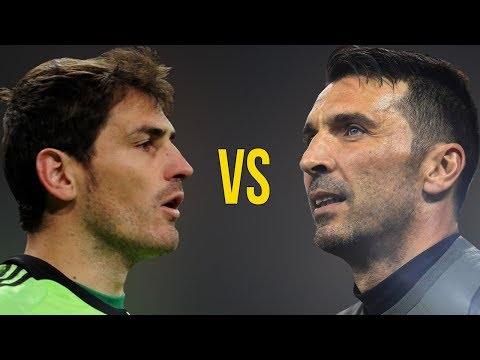 Gianluigi Buffon VS Iker Casillas - Who Is The Best Goalkeeper? - Amazing Saves - 2018