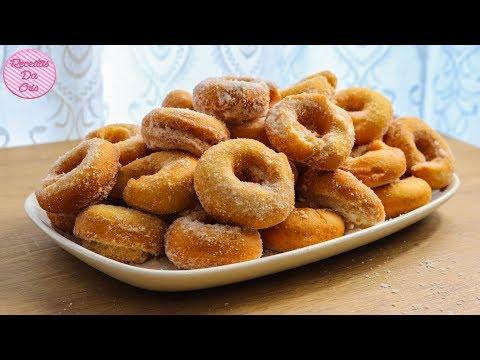 Rosquinhas doces de trigo
