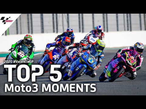 MotoGP バレンシアGP Moto3の決勝レースの様子をまとめたハイライト動画