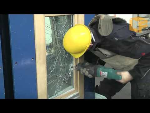 Sicherheitsfenster: Einbruchversuch RC5/WK5 nach DIN EN 1627
