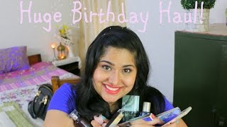 Image for video on Huge Birthday Haul ~ Clothing, High end Skincare, Drugstore  Makeup & Accessories! by Ikya Kesiraju