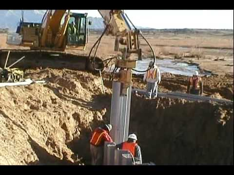 Seawall Construction Videos Everlast Synthetic Products