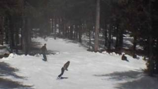 preview picture of video 'April 2009 in Troodos (yes, snowboarding)'