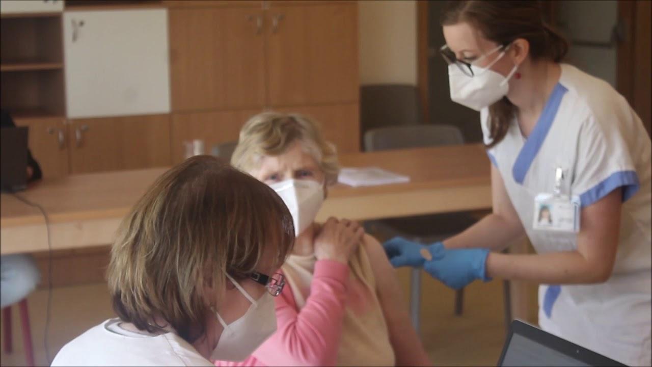Očkování v Konici