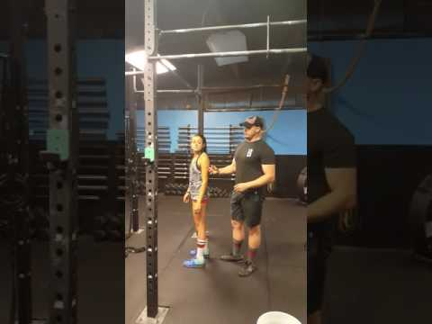 Partner assisted pull ups.