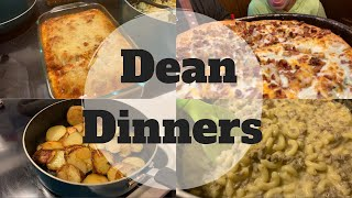What's For Dinner || DEAN DINNERS || Easy Meals
