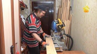 Смотреть онлайн Мебель из деревянных ящиков своими руками