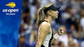 Sharapova Remains Undefeated at US Open Night Session 22-0
