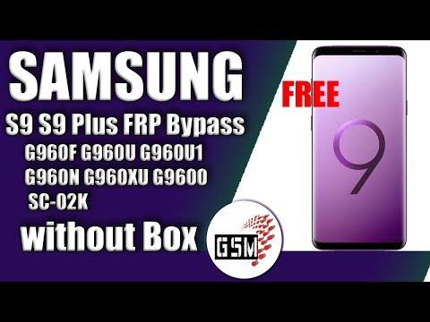 Remove RAC Rent a Center Lock Samsung S9 G960U & S9+ G965U Success