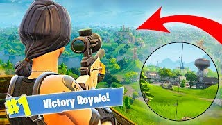 Longest sniper shot in fortnite playground