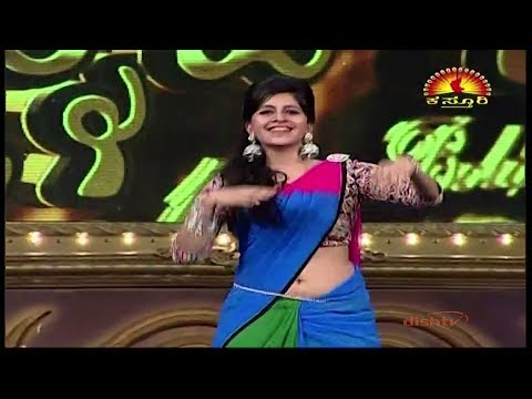 anushree anchor hot dance show-5 FULL HD