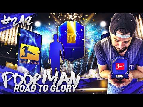 GUARANTEED BUNDESLIGA TOTS PACK!!! - POOR MAN ROAD TO GLORY #212 - FIFA 19 Ultimate Team