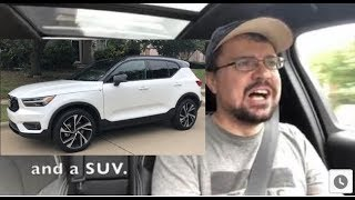 Volvo XC40 review, a cool compact SUV / CUV. Why I'd subscribe to it.
