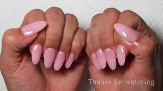 Watch Me Do My Nails | Dip Powder Almond Shaped Nails