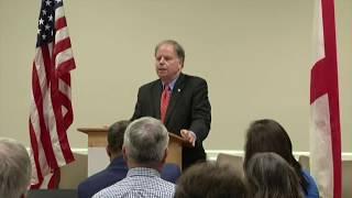 Senator Doug Jones Visits Calco Chamber