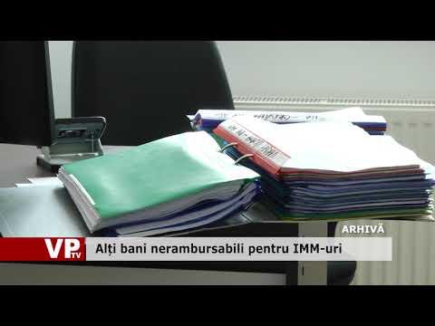 Alți bani nerambursabili pentru IMM-uri