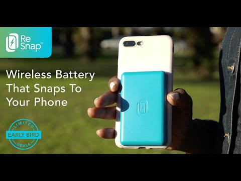 ReSnap – Wireless Portable Battery-GadgetAny