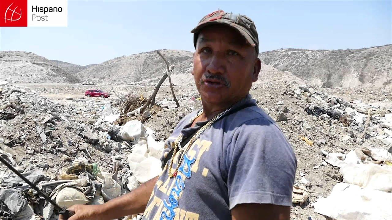Recoges productos de los vertederos de basura en Venezuela