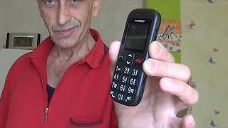Functional check Mobile Phone for seniors.Swisstone BBM320C.