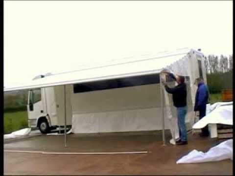 Barkers awning installation