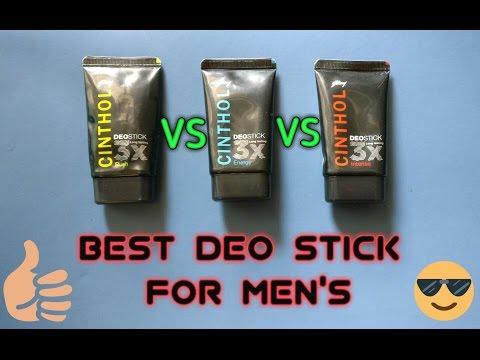 Cinthol Deo Stick Men, 40g . Best Deo Stick for Men's