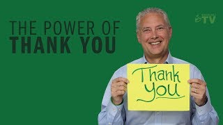 Tip 117: The Power of Thank You