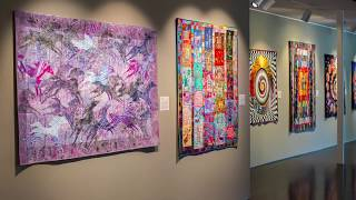 Virtual Tour Pt 1: Stitched: Contemporary Quilt Art From The International Quilt Festival Collection