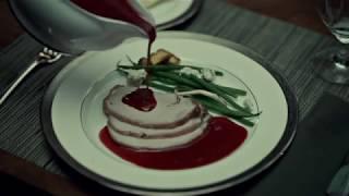 HANNIBAL HAS DINNER WITH JACK CRAWFORD SCENE