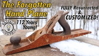 The Forgotten Hand Plane ~ Fully Restored & Customized