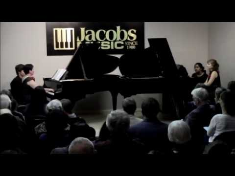 Princeton Steinway Society Concert