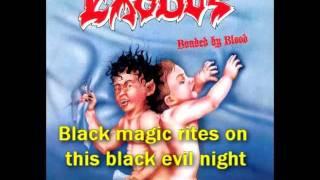 Exodus - Bonded by Blood (Lyrics)