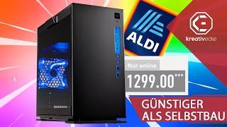 WIEDER GÜNSTIGER ALS SELBST BAUEN! Der NEUE 1300 EURO ALDI GAMING PC! #KreativeFragen 139