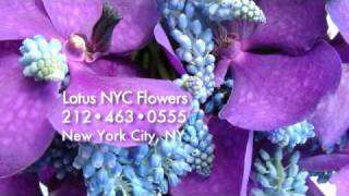 New York Florist Weddings Events Lotus NYC Flowers