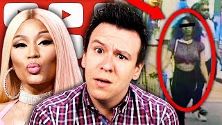 "The DISGUSTING ""Ice Cream Licker"" Challenge Is Getting Worse, Nicki Minaj, & Epstein Acosta Fallout"