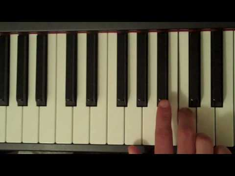 How To Play a C Minor Pentatonic Scale on Piano