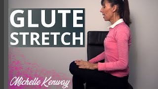 Seated Glute Stretch to Relieve Deep Butt and Hip Tightness