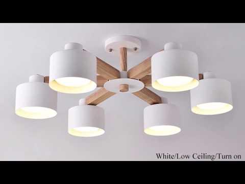 10 Люстры с Алиэкспресс AliExpress LED chandelier lamp Крутые товары для дома Дизайн Декор
